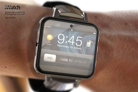 smart watches for iphone concept iphone straps ios to your wrist pairs to iphone