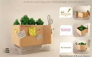 Mini Potager En Bois : o carr le mini potager pour la cuisine ~ Premium-room.com Idées de Décoration