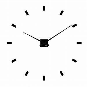 Mecanisme Horloge Geante : horloge g ante design minima sans chiffres heure cr ation ~ Teatrodelosmanantiales.com Idées de Décoration