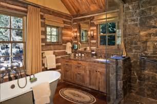 cabin bathrooms ideas 45 rustic and log cabin bathroom decor ideas 2017 wall decoration