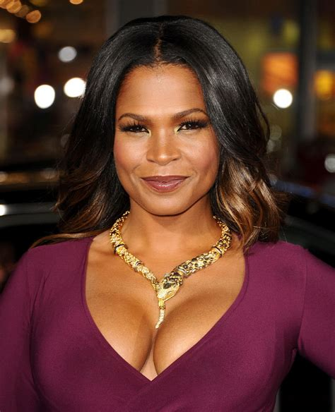Nia Long Showing Huge Cleavage At The Best Man Holiday