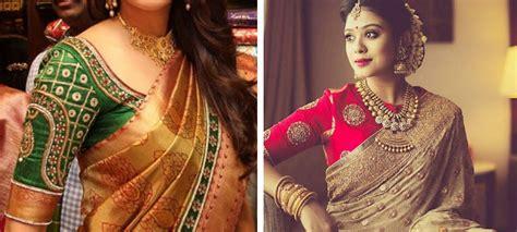kanjeevaram saree blouse designs