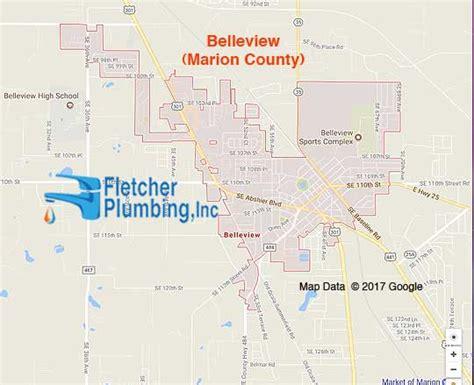 belleview fl  service area fletcher plumbing ocala