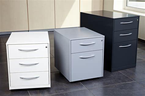 caisson de bureau noir fabrication caissons métalliques fixes à hauteur de bureau