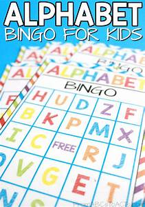 printable alphabet bingo for kids from abcs to acts With letter bingo game