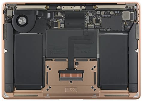 2018 macbook air teardown confirms improving repairability with adhesive pull tabs battery