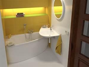Bad Design Heizung : raumspar badewanne 160 x 70 mit sch rze f r kleine b der ~ Michelbontemps.com Haus und Dekorationen
