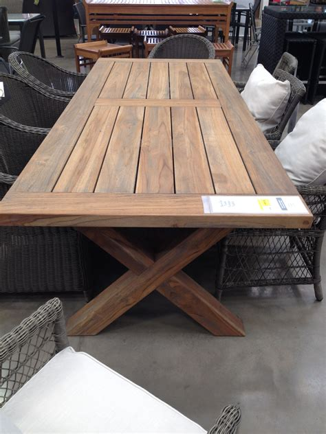 teak outdoor dining table bunnings entertainment area