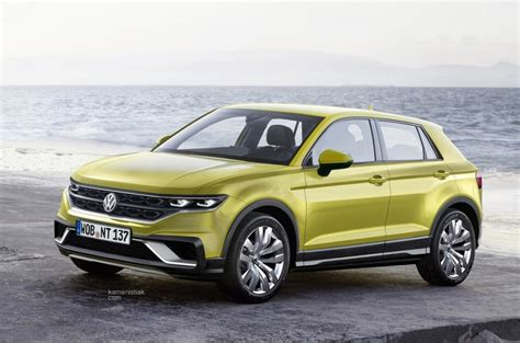 volkswagen suv volkswagen polo based suv reflects aggression with style