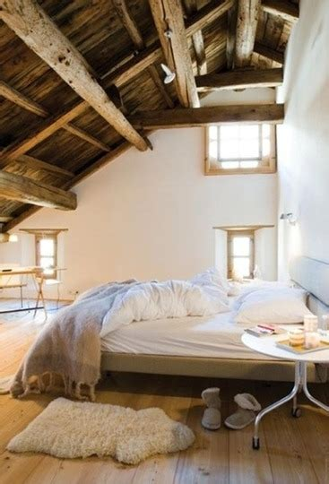 habitaciones rusticas  estilo moderno decoracion de