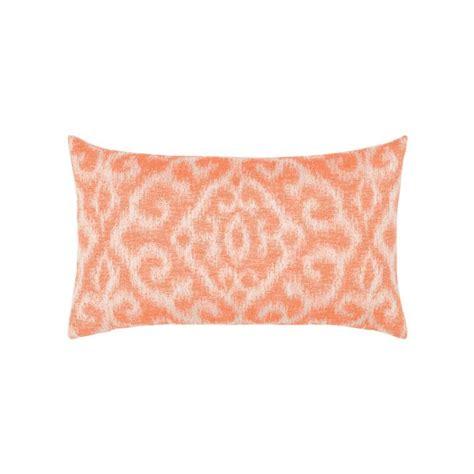 coral lumbar pillow elaine smith bali coral lumbar pillow leisure living