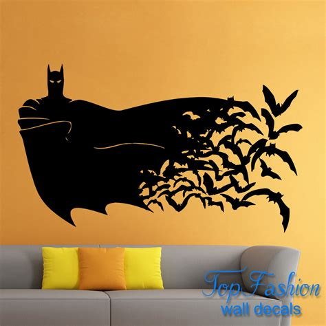 Comic Wall Decor by Batman Wall Decal Batman Cityscape Wall Decals