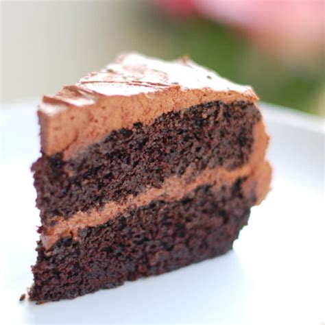 double chocolate cake  buttercream frosting recipe