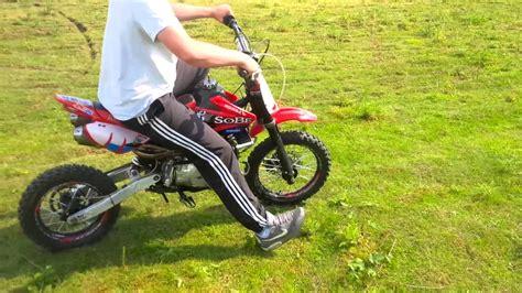 Honda Crf Pit Bike Youtube