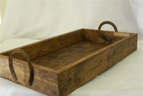a wood wedding place card holder for a rustic sale rustic wood wedding box tray with shoe handles 20 x