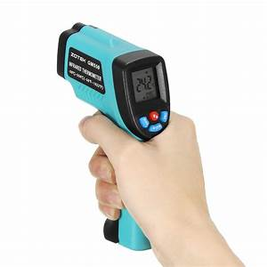 GM550 Digital Non-Contact LCD IR Infrared Laser Point ...