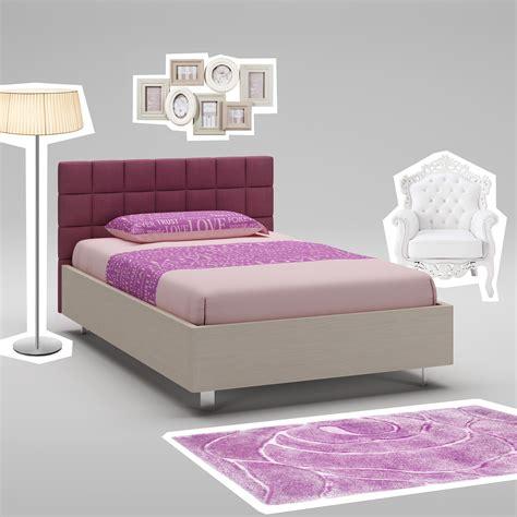 couleur de chambre pour ado fille lit ado mélèze avec tête de lit rembourrée