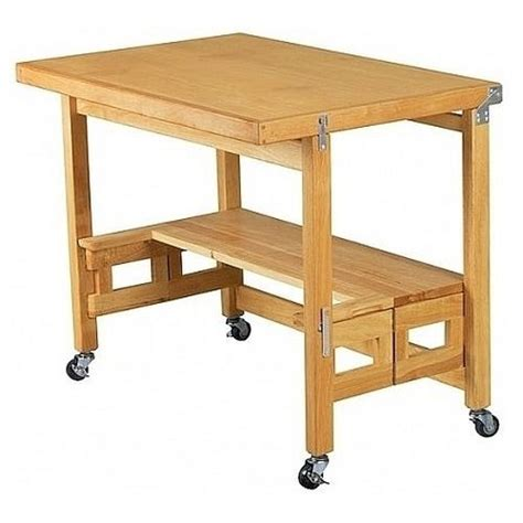 mobile folding desk workbench heavy duty rolling computer