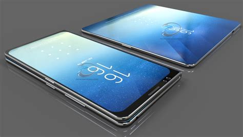 Samsung Galaxy X Gets Competent And Realistic Render