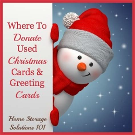 Where To Donate Used Christmas Cards & Greeting Cards
