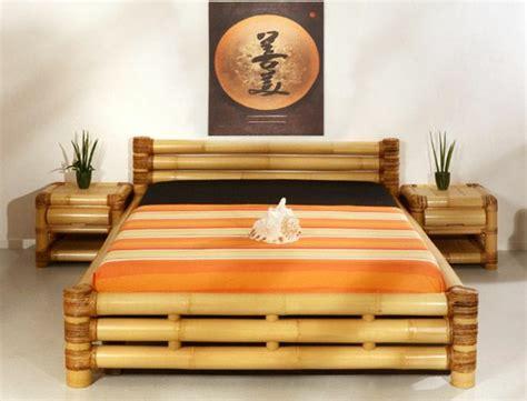 chambre bambou jolies variantes pas cher pour un meuble en bambou