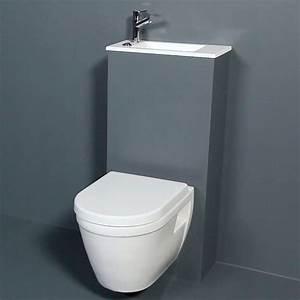 Wc Suspendu Castorama : wc suspendu castorama salle de bains pinterest ~ Melissatoandfro.com Idées de Décoration