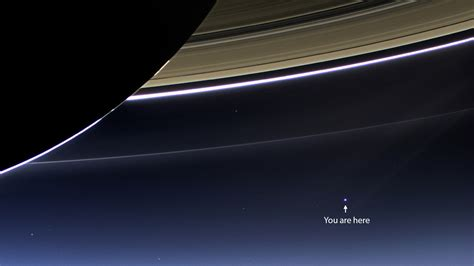 Earth From Saturn Cassini Image Wallpaper