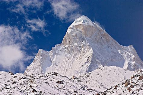 Shivling (garhwal Himalaya) Mountain Photo By