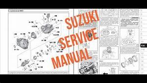 Suzuki Sx4 S-cross Service Manual