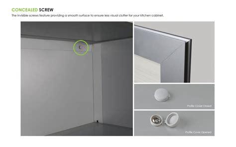 semi aluminium cabinet series  kitchen vitally