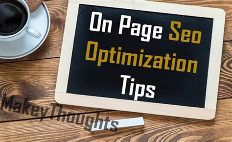 Seo Optimisation Techniques by Top 15 On Page Seo Optimization Techniques To Drive