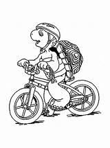 Coloring Bicycle Preschooler Coloringtop sketch template