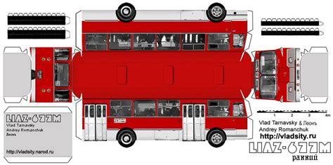 strassenbahn und busmodelle aus kartonbau tt board