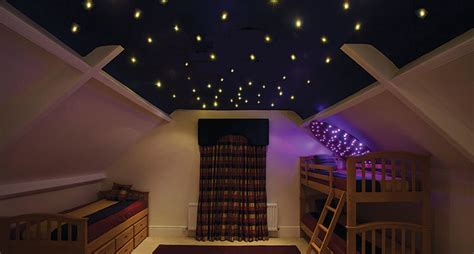 ufo lighting fibre optic effect ceilings