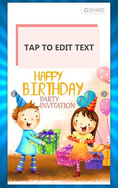 Birthday Invitation Card Maker APK Download Free