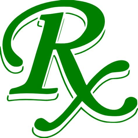 Rx Clipart Green Rx Symbol Clipart Image Ipharmd Net