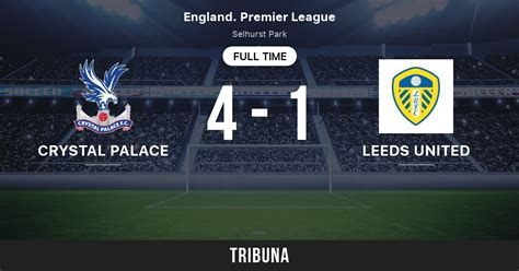 Crystal palace are brimming with confidence ahead of monday's clash, and we predict that they are going to share the spoils with the whites at elland road. Crystal Palace - Leeds United: Live Score, Stream and H2H ...