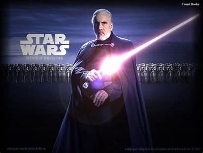 Dooku Count Wars Star Wallpapers Starwars Union