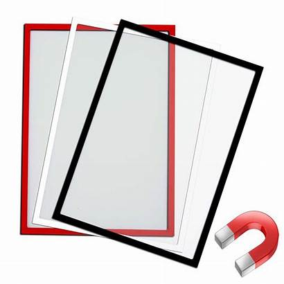 A4 Magnetic Document Holder Holders Sign Poster