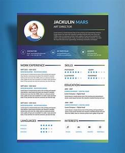 beautiful resume cv design template free psd file good With beautiful resume templates