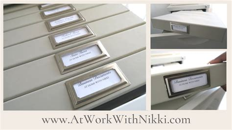 how to organize your file cabinet how to organize your business file cabinet