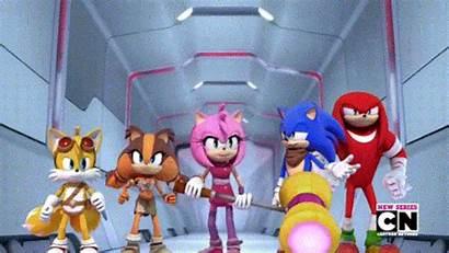 Sonic Sticks Boom Badger Tv Series Amy