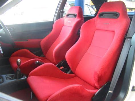 recaro si e auto 98 39 honda civic type r ek9 for sale fob