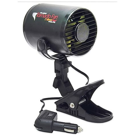clip on fan for bed buy roadpro 12 volt tornado fan with mounting clip from