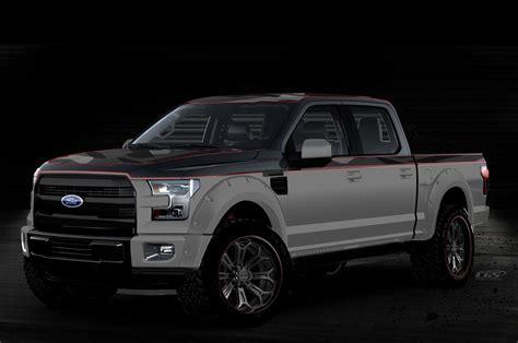 ford previews  sema   show trucks
