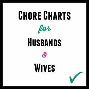 Adult Chore Charts for Husbands & Wives » Thrifty Little Mom
