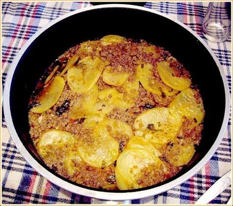 recette de cuisine turc moussaka de pomme de terre du sel dans ma cuisine