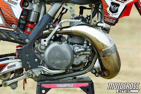 mxa builds  ktm sx  stroke kit bikemotocross