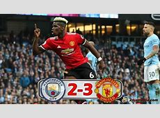 Manchester City vs Manchester United 23, Highlight dan