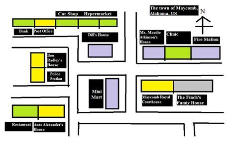Map Maycomb Alabama